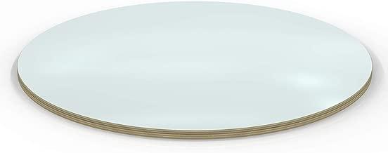AUPROTEC Tischplatte 18mm rund /Ø 500 mm schwarz Multiplexplatte melaminbeschichtet von 20cm-148cm ausw/ählbar runde Sperrholz-Platten Birke Massiv Multiplex Holz Industriequalit/ät