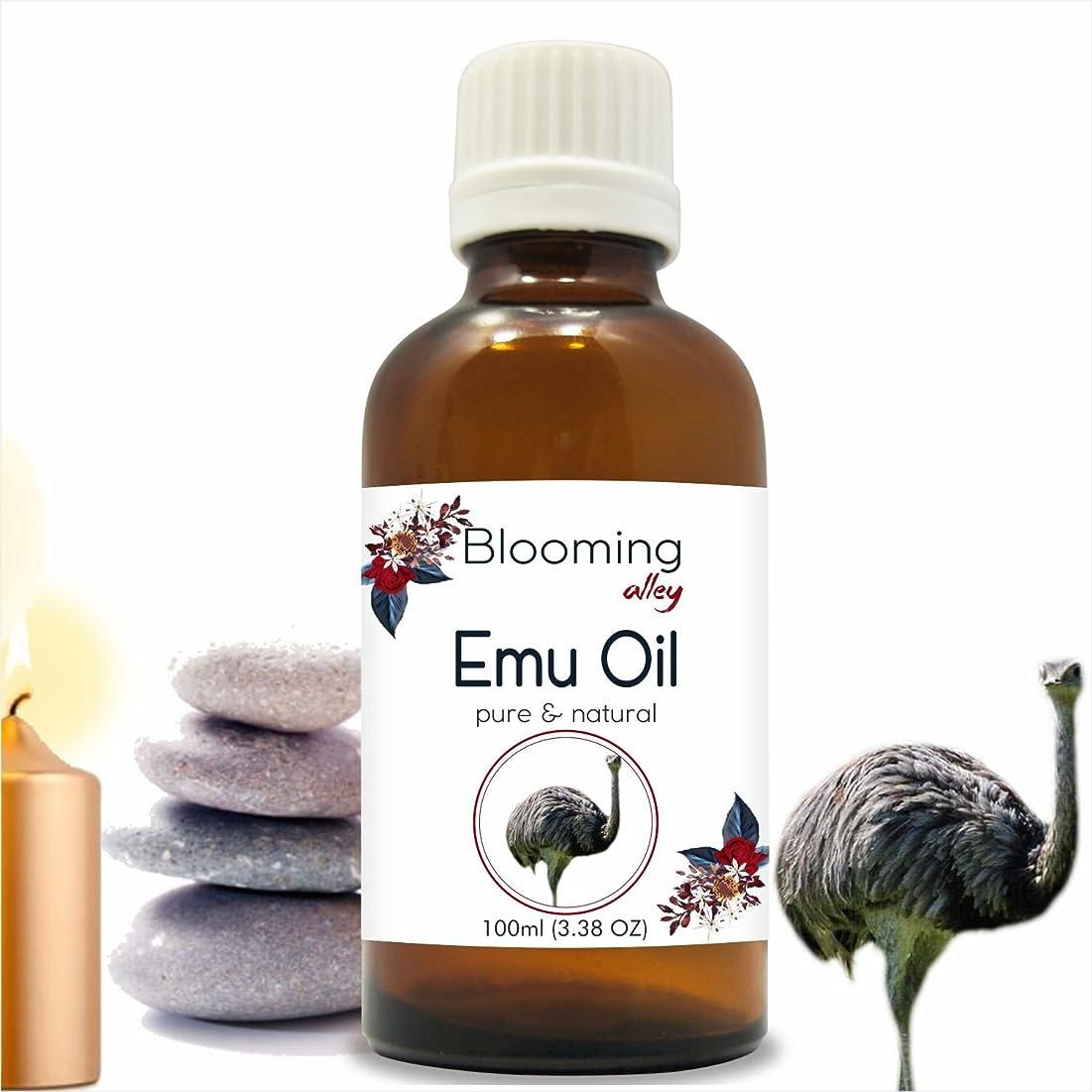 クリーク非アクティブボトルEmu Oil 100 ml or 3.38 Fl Oz by Blooming Alley