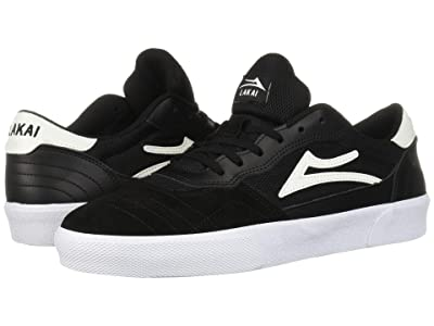 Lakai Cambridge (Black/White Suede 1) Men