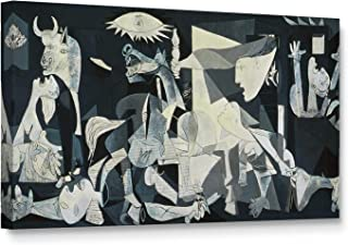 Niwo Art - Guernica, World's Most Famous Paintings Series, Canvas Wall Art Home Decor, Gallery Wrapped, Stretched, Framed Ready to Hang (24