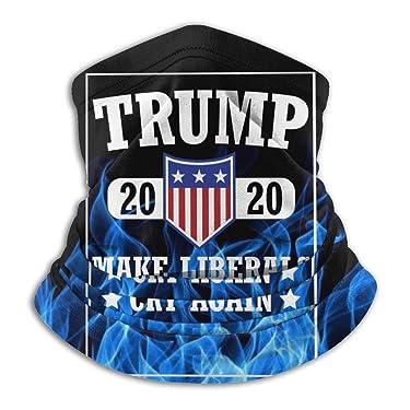 Unisex Donald Trump-2020 USA Neck Warmer Soft Neck Gaiter Windproof Bandanas Thermal Ear Face Mask For Men Women