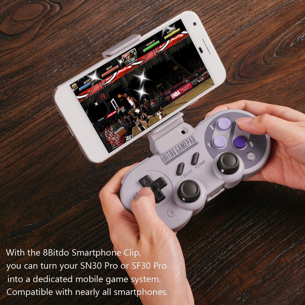 Mcbazel Xtander Smartphone Clip for SN30 Pro / SF30 Pro GamePad: Amazon.es: Oficina y papelería