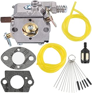 Yermax 640347 640347A Carburetor with Cleaning Brush for Tecumseh TM049XA 2HP Powerhead Strike Master Jiffy Ice Auger Drill