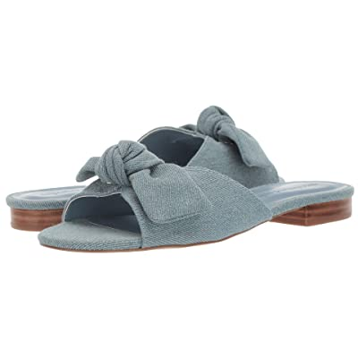 Cupcakes and Cashmere Yazia Sandal (Blue Denim) Women