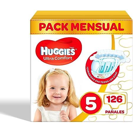 Pañales para bebé Huggies Ultra Comfort, talla 3 (4-9 kg ...