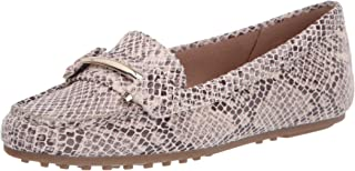 Aerosoles womens Flat Driving Style Loafer, Bone Snake, 5 US