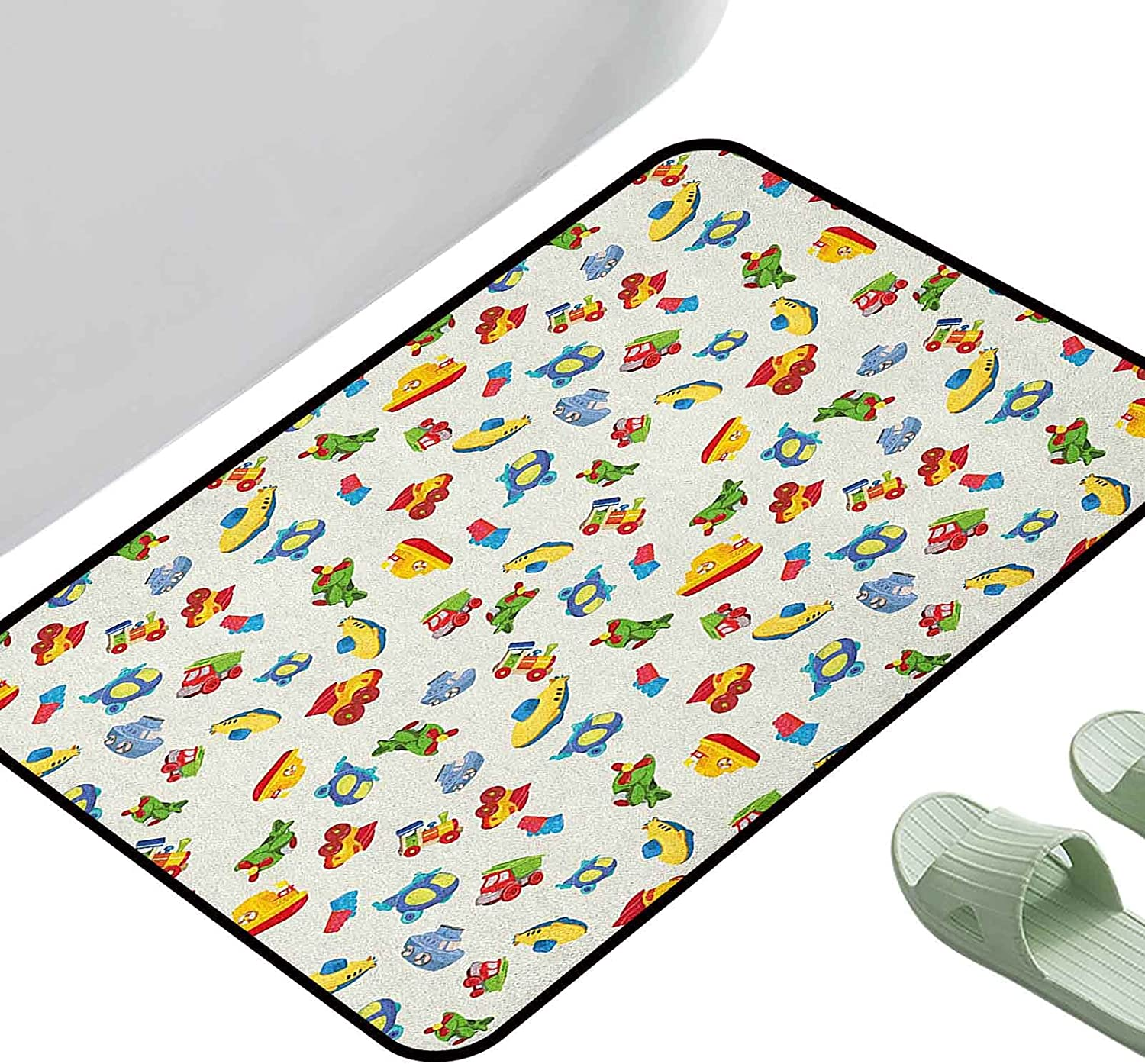 Home Cash special price Entrance Mats Kids Airplane Ship Submarine Boat Ranking TOP6 Helicopter
