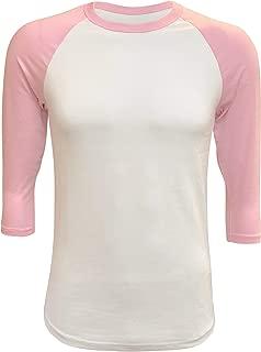 Best light pink baseball jersey Reviews