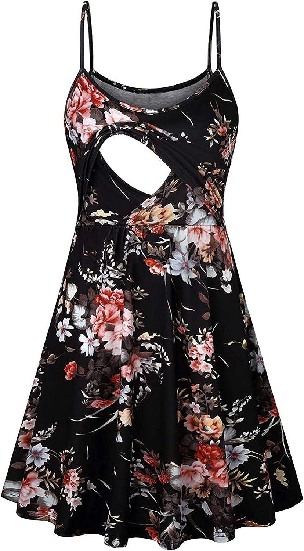 5 ☆ very popular San Antonio Mall Pregnant Dresses for Women Sexy Fashion Print Floral Maternity