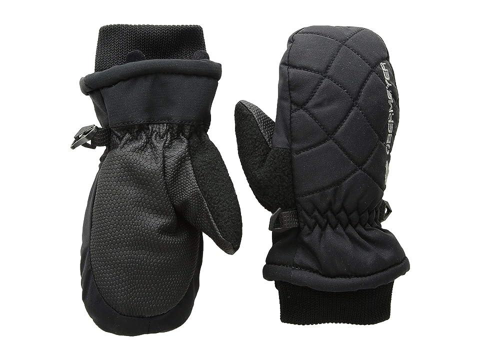 Obermeyer Kids Puffy Down Mitten (Little Kids/Big Kids) (Black) Extreme Cold Weather Gloves
