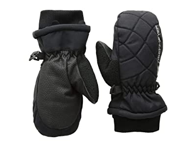 Obermeyer Kids Puffy Down Mitten (Little Kids/Big Kids) (Black) Extreme Cold Weather Gloves