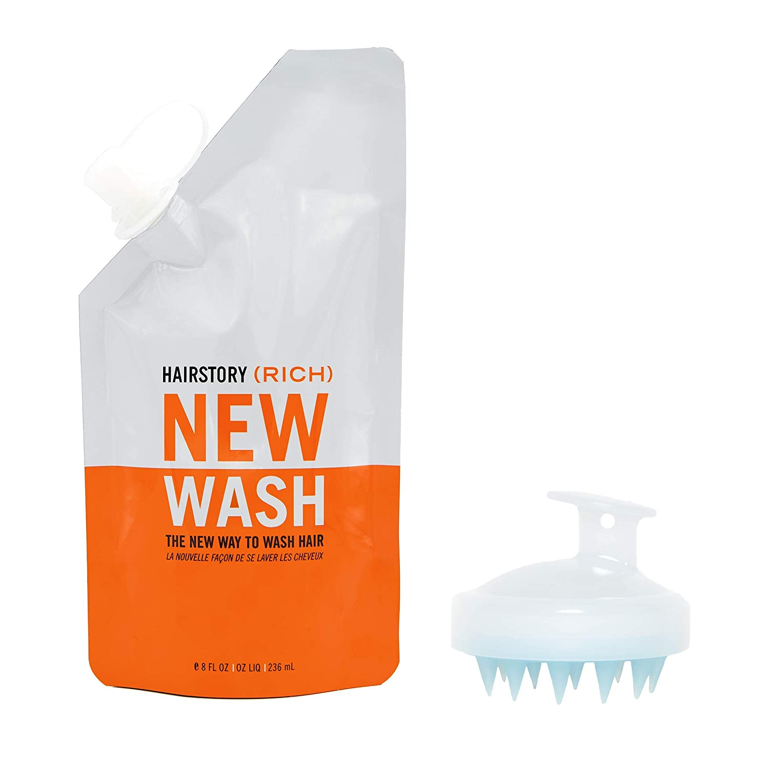 New Very popular Wash Raleigh Mall RICH Hair Cleanser Conditioner Scalp 8oz + B Pouch