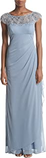Xscape Women's Beaded Off The Sholder Dress
