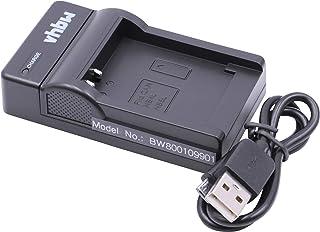 vhbw Micro USB lader oplaadkabel geschikt voor camera batterij Canon NB-4L, NB-5L.