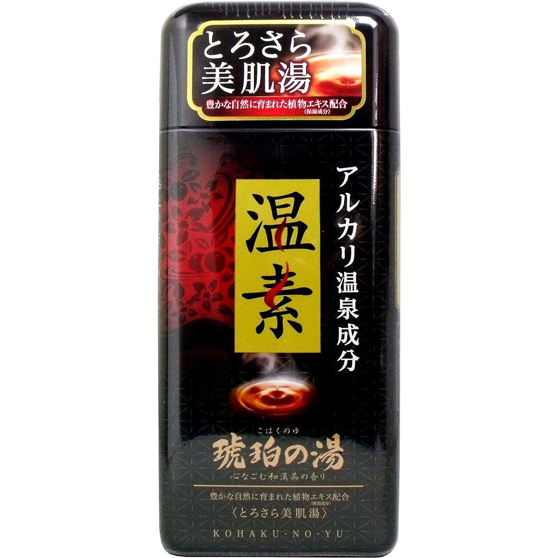 不屈メッセンジャー食欲温素 琥珀の湯 × 10個セット