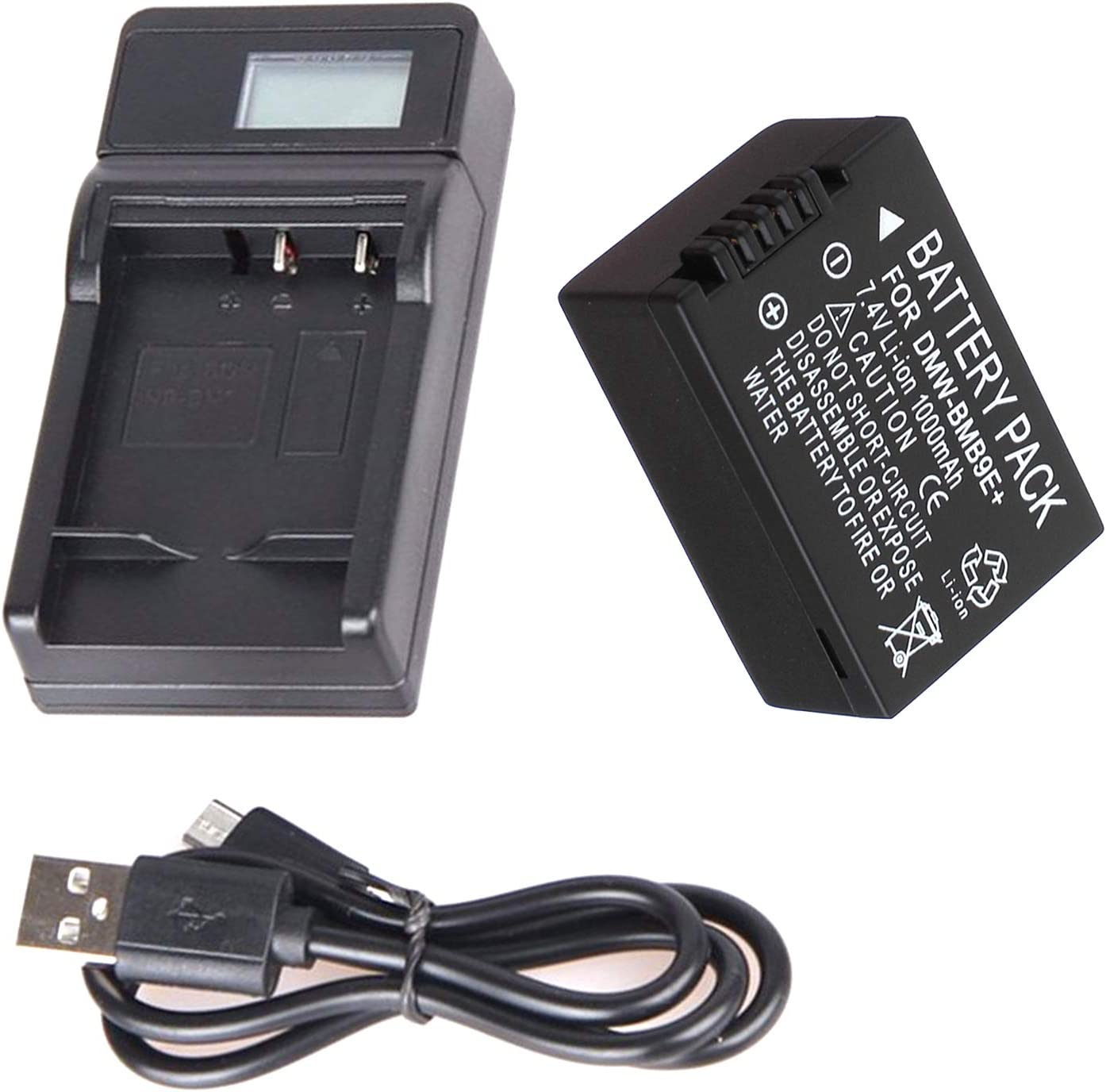 Battery Pack and Max 45% OFF LCD Limited price sale USB Travel Charger DMC- Lumix for Panasonic