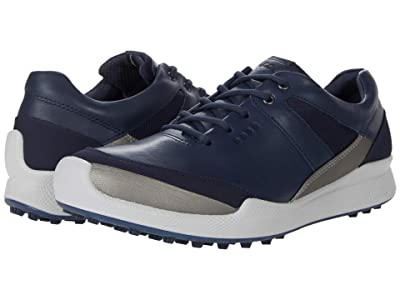 ECCO Golf Biom Hybrid I Hydromax (Marine/Buffed Silver/Night Sky/Yak Leather/Synthetic) Women