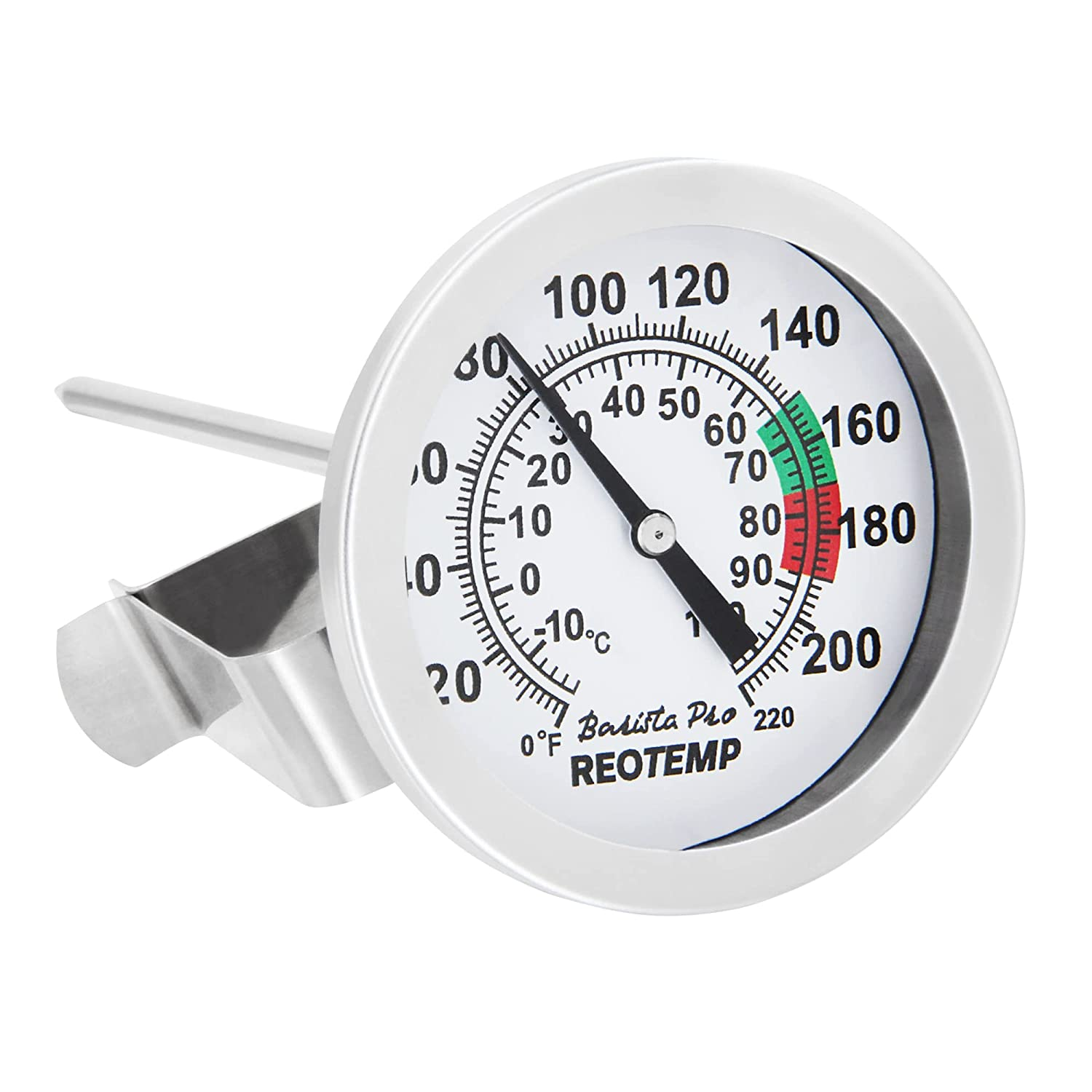 Reotemp K83C1 Barista Pro Milk Frothing Coffee Thermometer (5 in Stem)