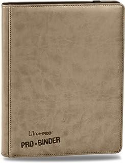 Premium PRO-BINDER 9-Pocket Cards, Tan