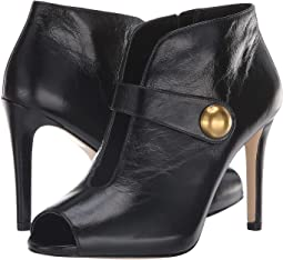 547cd075947 Michael michael kors yvonne open toe bootie black kid suede ...
