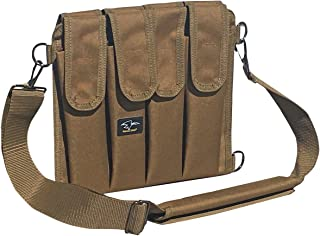 Galati Gear 9MM Shoulder Magazine Pouch - Holds 8 (Coyote Brown)