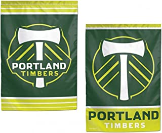 WinCraft Portland Timbers FC Garden Flag 12.5 x 18 inches Double Sided