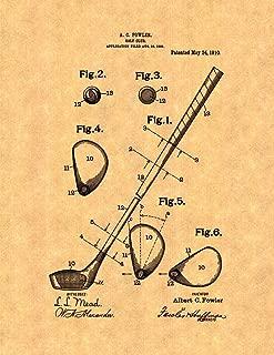 Golf Club Patent Print (11