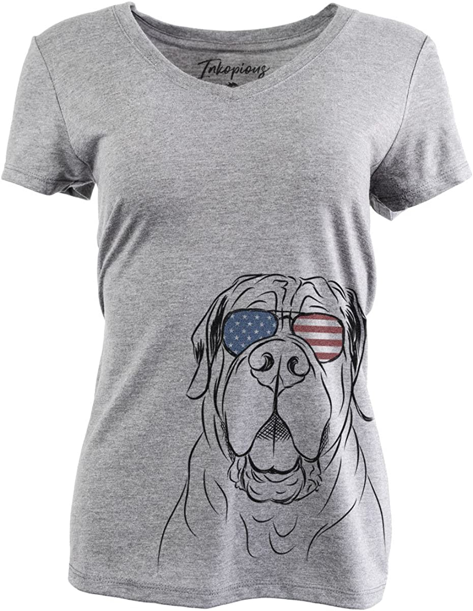 Our shop OFFers the best service New popularity Patriotic Tufton The English Mastiff Triblend T-Shirt