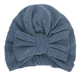 Baby Hat Big Bow Elastic Cotton Baby Beanie Cap Multicolor Infant Turban Kids Hair Accessories