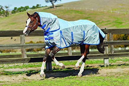 WEATHERBEETA COMFITEC 600D/MESH Combo Neck Silver/Silver 5'9 Horse Rug
