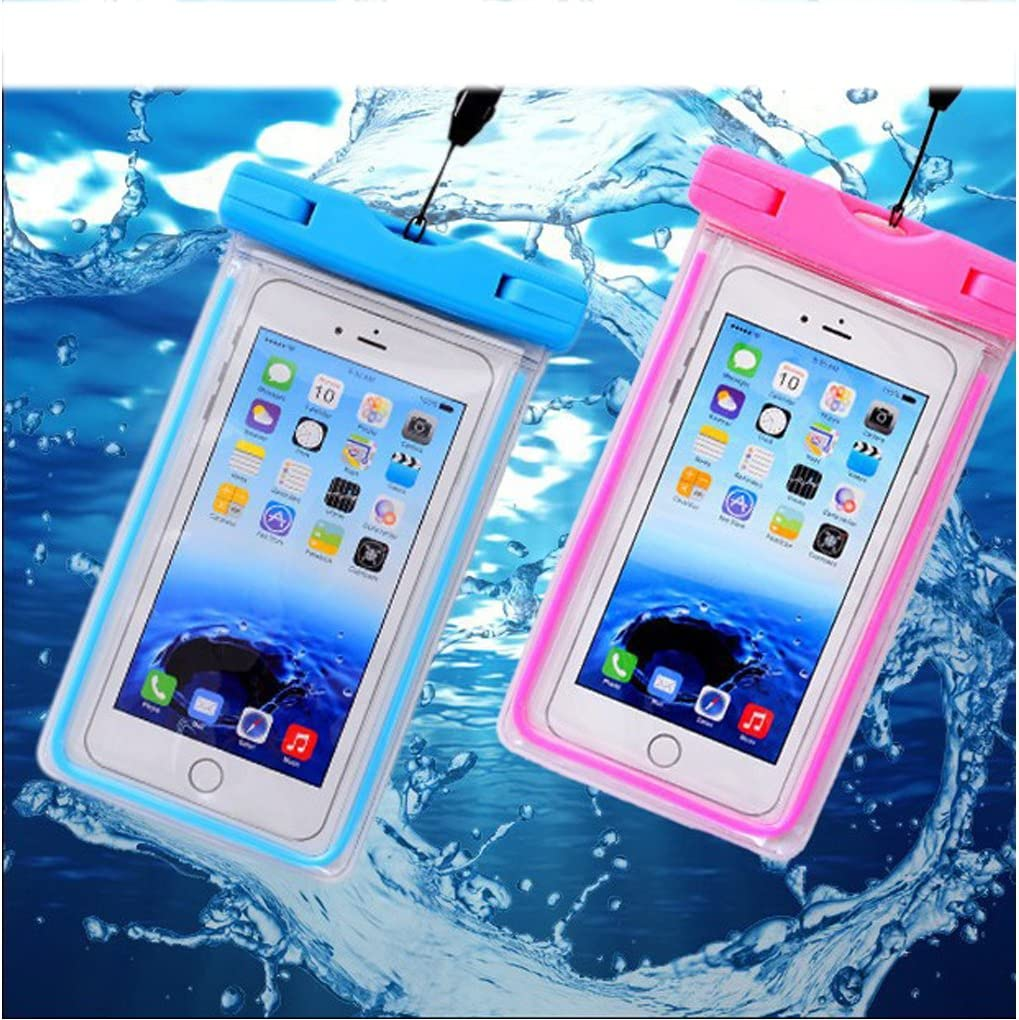 [3PACK] Waterproof Case Universal CellPhone Dry Bag Pouch CaseHQ for Apple iPhone 8,8plus,7,7plus,6s, 6, 6S Plus, SE, 5S, Samsung Galaxy s8,s8plus S7, S6 HTC LG Sony Nokia Motorola up to 5.8