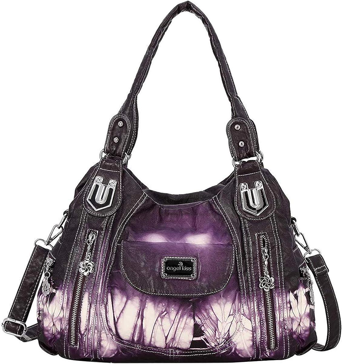Handbag Hobo Women Sale Bag Roomy Pockets Street half ladies' Multiple Sho
