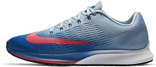 NIKE Hommes's Air Zoom Elite 9 FonctionneHommest chaussures (12 D(M) US, bleu Jay Solar rouge)