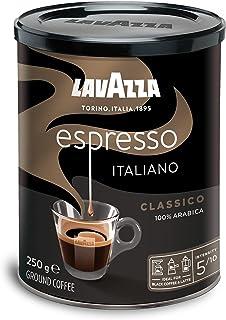 Lavazza Ground Coffee Cafe Espresso Tin, 250g