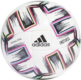 adidas Uniforia Pro Sala, Balón, White-Black-Signal Green-Bright Cyan