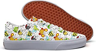 YCFTA Lovely Penguin Women Casual Shoes Footwear Athletic Print Simple