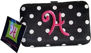 Mud Pie Women's Initial Flat Credit Card Case - H