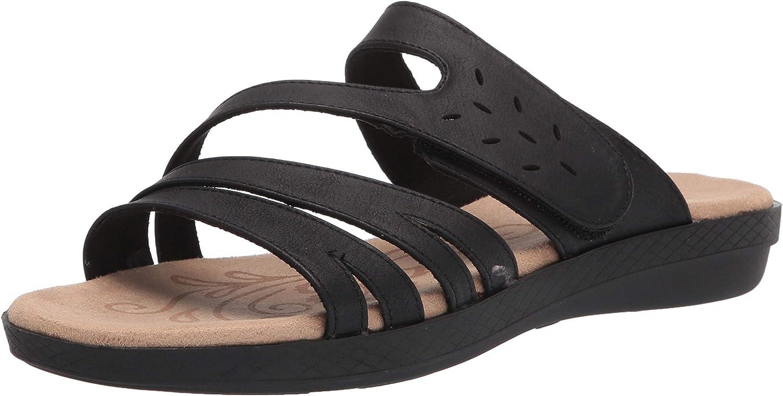 誕生日プレゼント Easy Street Women's Slip on 格安 価格でご提供いたします Sandal Slide