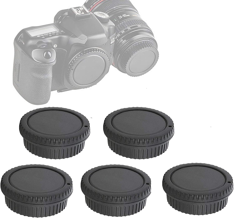 5 Packs Fotasy Rear Lens Cover Camera Sales for Super popular specialty store sale E Canon Body Cap EOS
