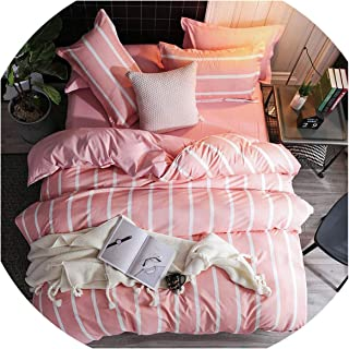 Bedding Set Luxury Pink Love & Freedome3/4pcs Family Set Include Bed Sheet Duvet Cover Pillowcase Boy Room Flat Sheet No Filler 2019 Bed,The 17th,Single 3pcs 150by200