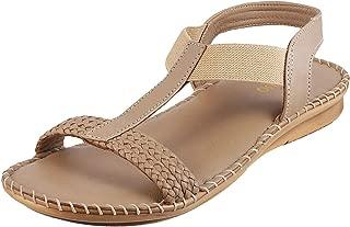 Metro Women Leather Sandals (44-439)