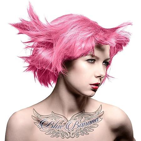 Tinte capilar semi-permanente de Manic Panic Amplified (Cotton Candy Pink - Rosa Algodón de Azúcar)