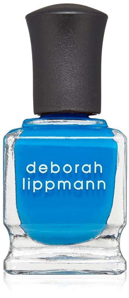 ミシン目故障無知[Deborah Lippmann] [ デボラリップマン] ビデオ キル ザ レディオ スター VIDEO KILLED THE RADIO STAR 色ブルー ネイルカラー系統ブルー 5フリー 爪にやさしい 15mL