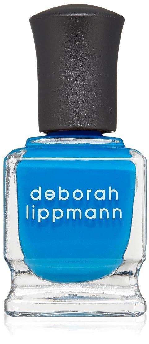 シニス野生むしろ[Deborah Lippmann] [ デボラリップマン] ビデオ キル ザ レディオ スター VIDEO KILLED THE RADIO STAR 色ブルー ネイルカラー系統ブルー 5フリー 爪にやさしい 15mL