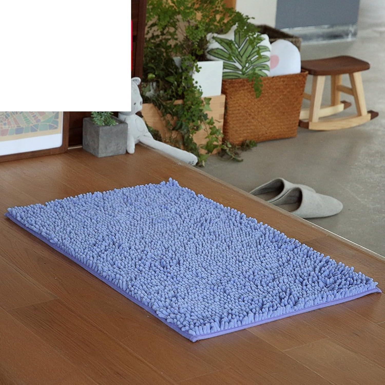 Toilet Bathroom door mats bathroom bedroom [living room] restroom  [hall]  indoor water-absorption anti-slipping mats foot Pad doormat-F 60x90cm(24x35inch)