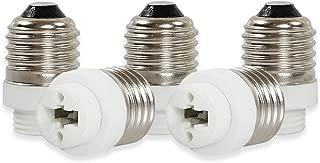 Convertidor Yblntek de casquillos de bombillas, para bombillas LED, 5 unidades, E27 to G9, E27 to G9, E14
