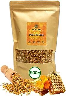 comprar comparacion 500 gramos - Polen de España (UE) 100% natural. Polen de abeja libre de residuos. Polen fuente de proteinas, aminoácidos, ...
