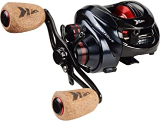 KastKing Spartacus Baitcasting Fishing Reel Ultra Smooth 17.5 LB Carbon Fiber Drag, 6.3:1 Gear Ratio,11 + 1 Shielded Ball ...