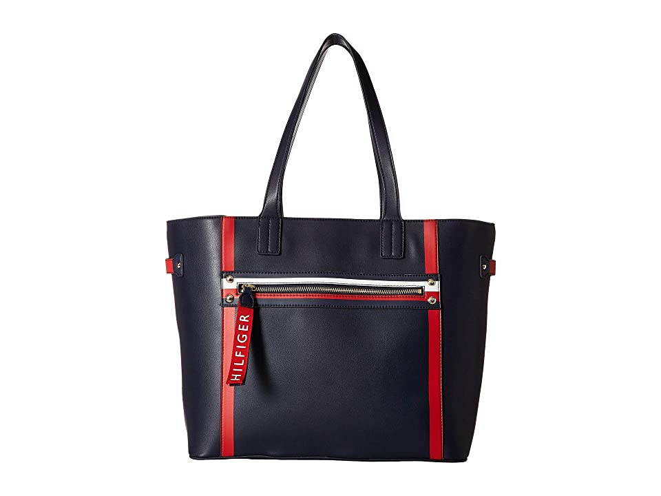 Tommy Hilfiger Hayden Tote (Tommy Navy) Tote Handbags
