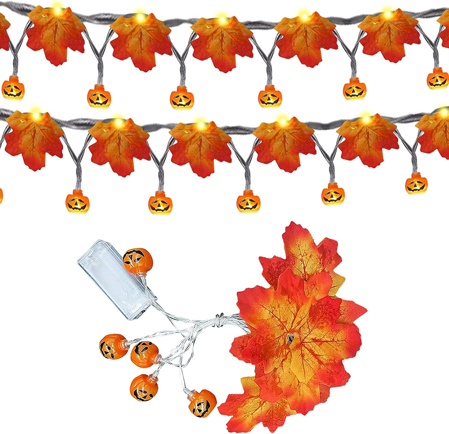 Womail Halloween Decoration NEW before selling ☆ Lights for Indoor - Home Outdoor LED Max 85% OFF
